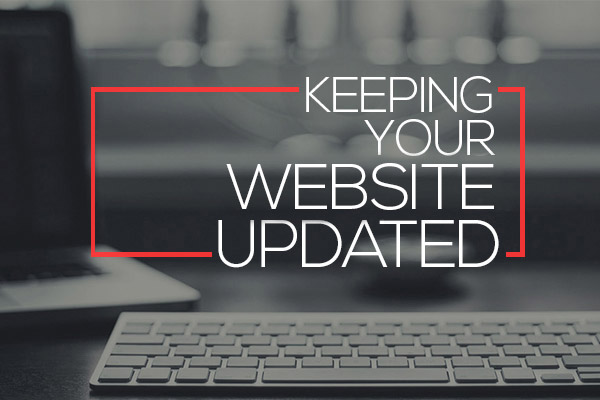 Keeping Your Website Updated
